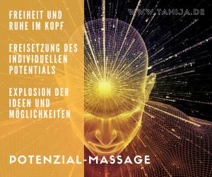 Potential Massage Energie Freiheit Explosion der Möglichkeiten