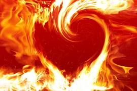 Feuerherz Herzglut Energie