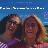 Partner Session Access Bars synchrone Entspannung in Stuttgart - Gedanken und Erwartungen raus und Raum für Dankbarkeit, Liebe und neue Möglichkeiten für die Beziehung schaffen - Hammer- Wellness Eheberatung ohne Worte